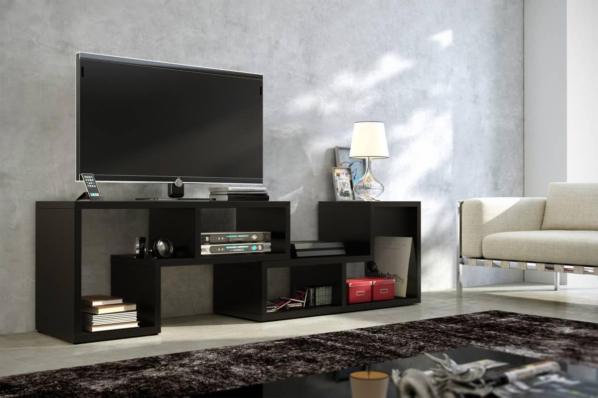 TV stolík Top čierna
