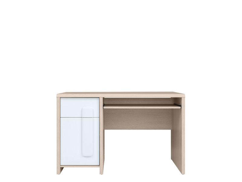PC stolík Colorado BIU/120 (dub svetlý belluno + biela + biela matná)