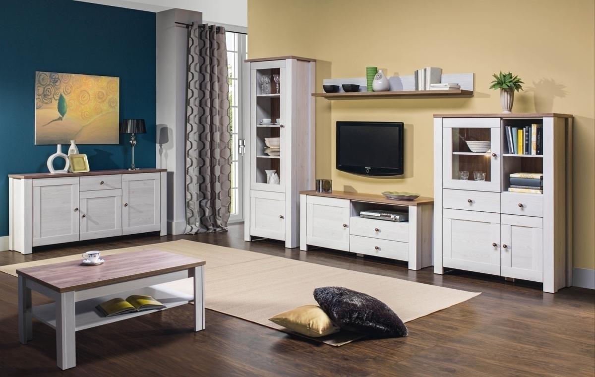 BOG-FRAN DELUXE obývacia izba - smrekovec sibiu / dub