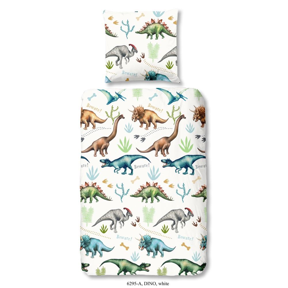 Detské posteľné obliečky z bavlny Good Morning Dino, 140 x 200 cm
