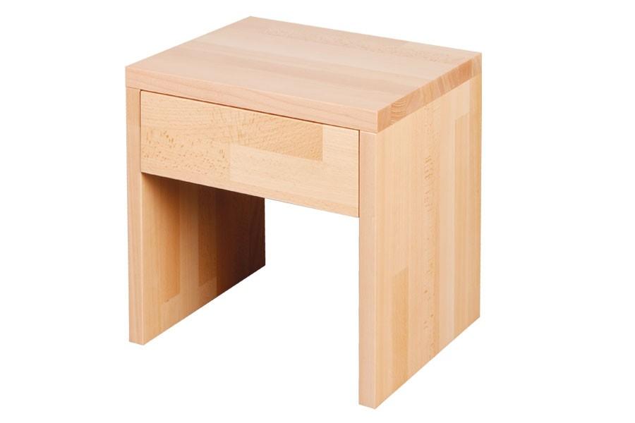 Bradop Nočný stolík so zásuvkou VÍTEK 2, buk L018