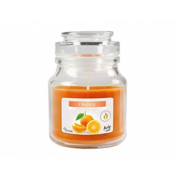 Vonná sviečka v skle Pomaranč, 350 g
