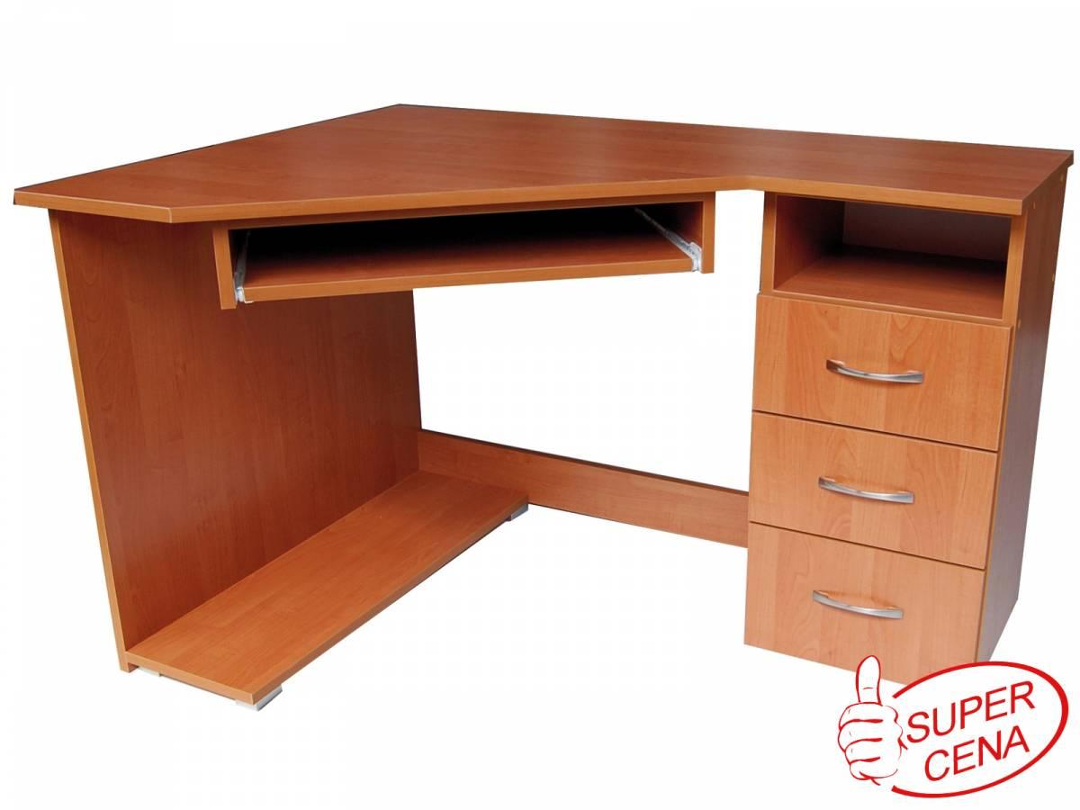 Rohový PC stolík Promo 8 P