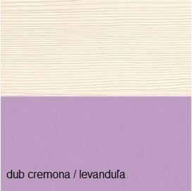 Kombinovaná skriňa G-4 Gusto Farba: dub cremona levanduľa