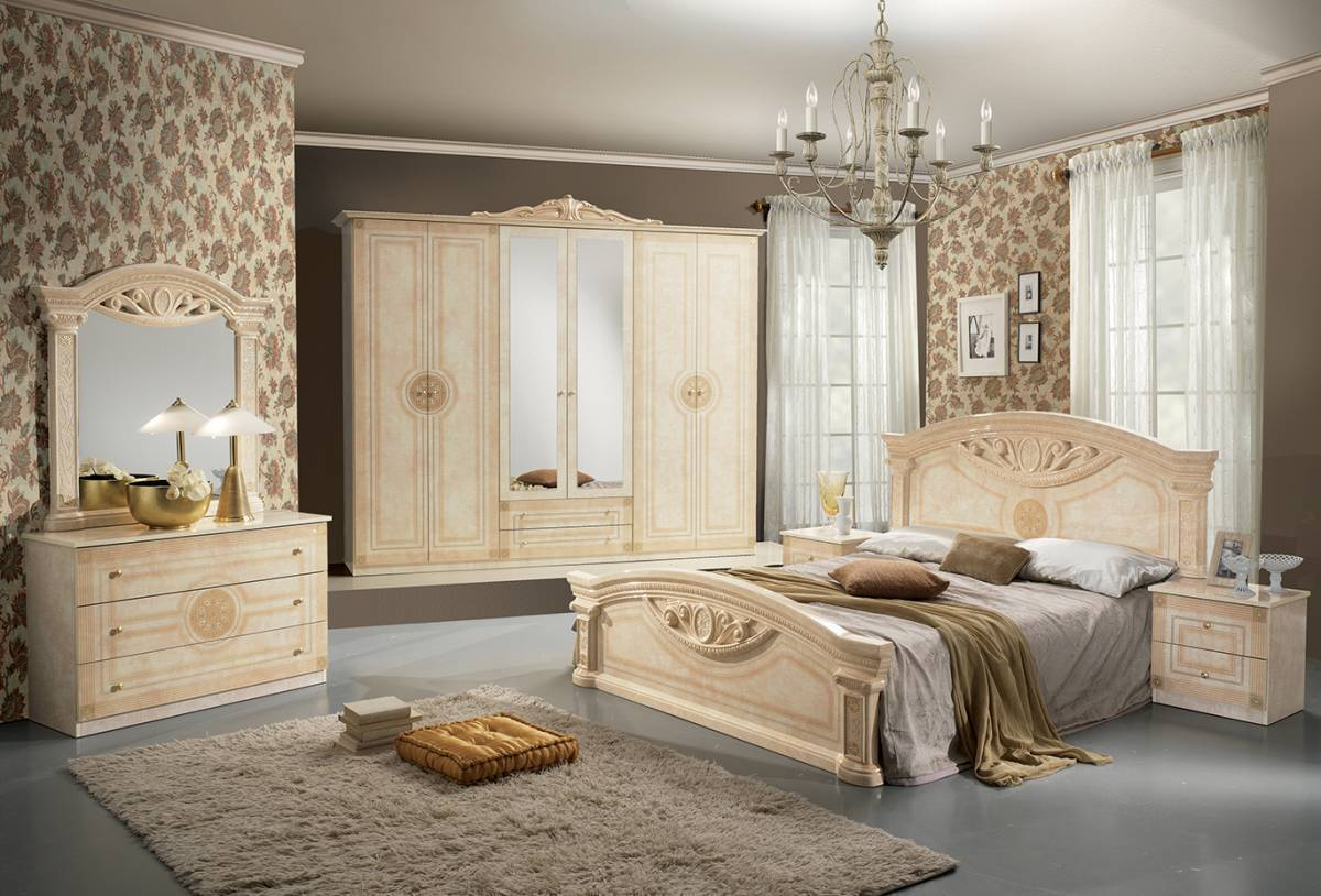 Spálňa ROMI - béžová