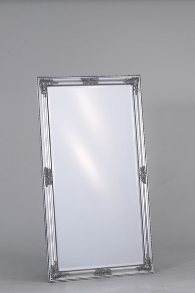 Nástenné zrkadlo BRUNO - strieborná