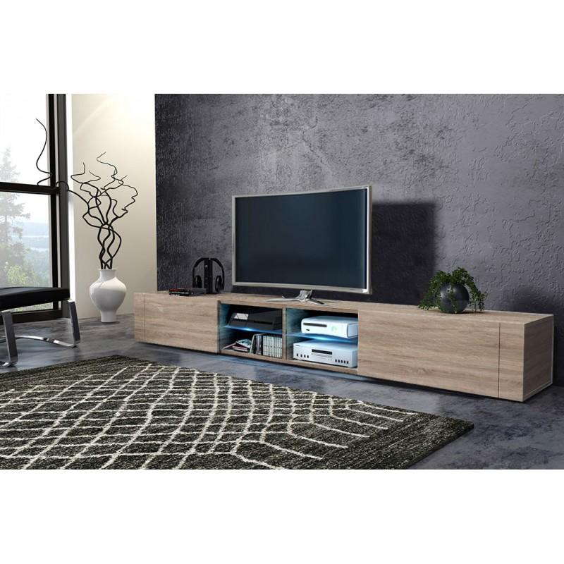 TV stolík/skrinka Best dvojitý (sonoma svetlá)