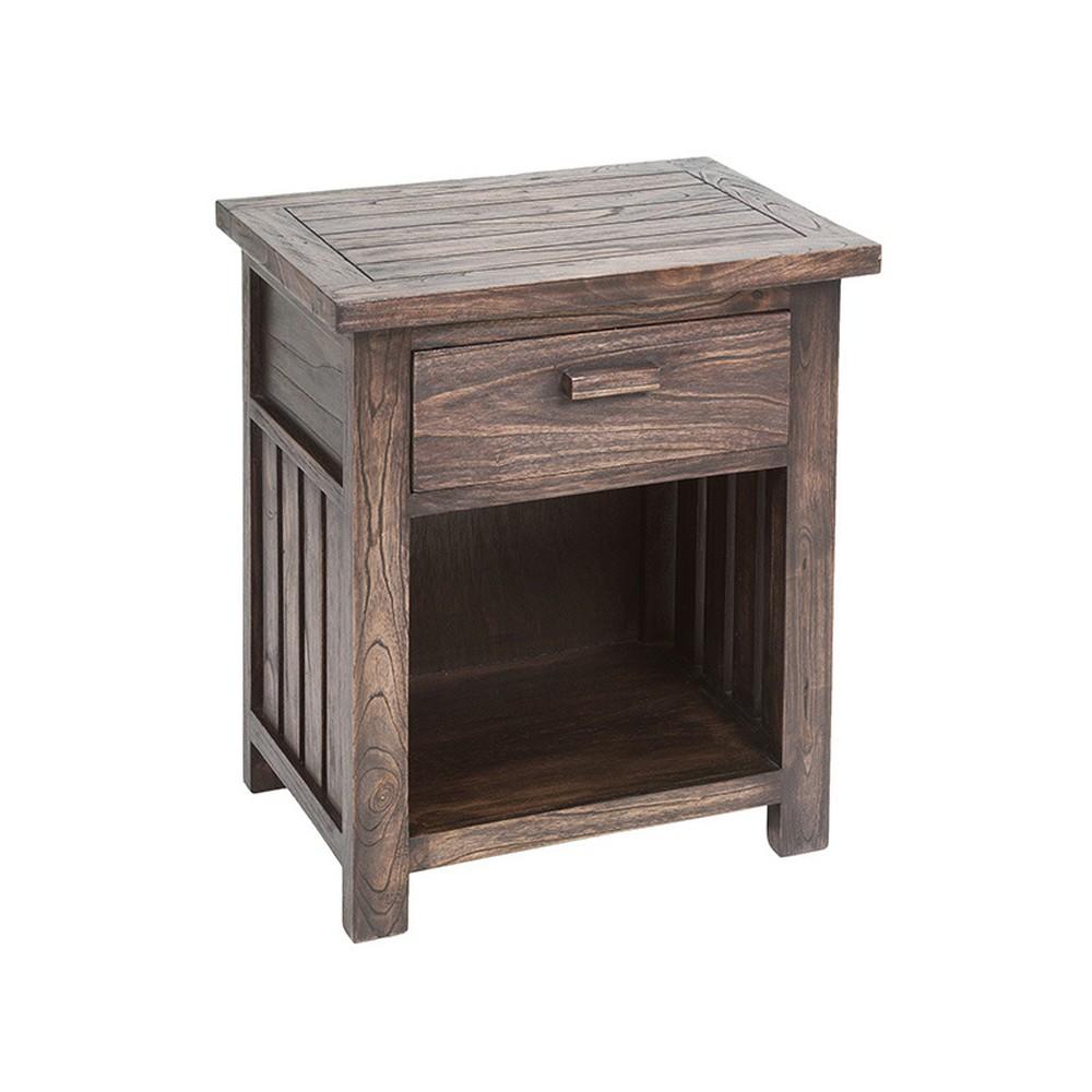 Nočný stolík z dreva mindi Santiago Pons Antalia