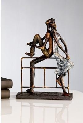 Socha REFLECTION - bronzová