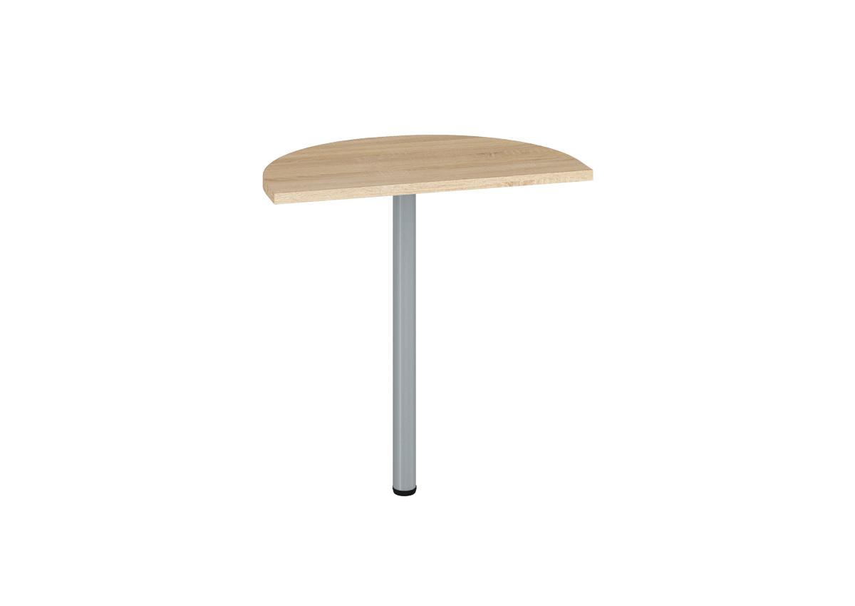 Prídavný kancelársky stôl OPTIMAL 19 / sonoma svetlá