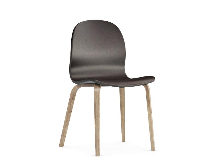 Jedálenská stolička Possi hnedá   Farba: hnedá/san remo sand svetlý