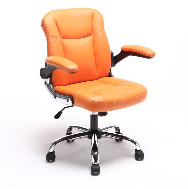 Kancelárske kreslo Gared (oranžová)