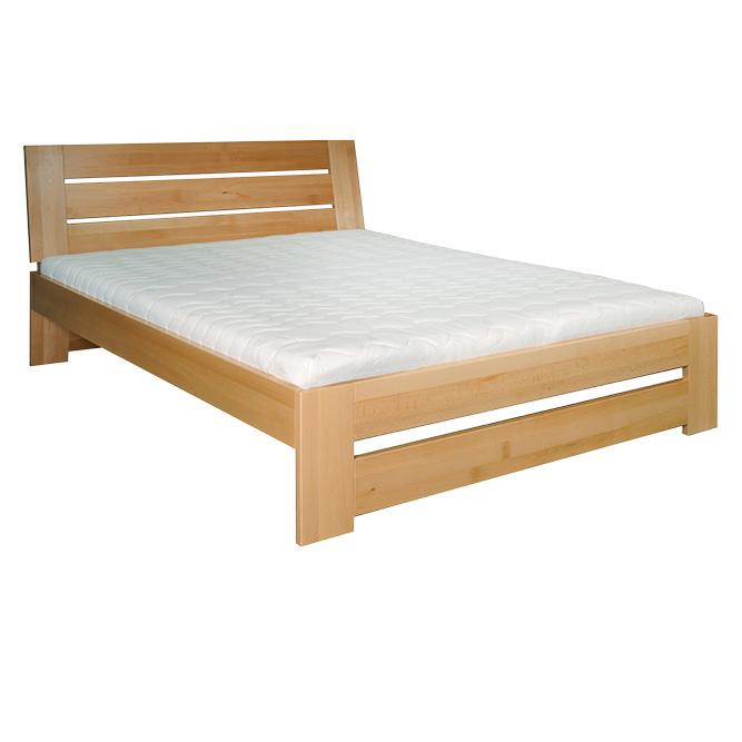 Manželská posteľ 140 cm LK 192 (buk) (masív)