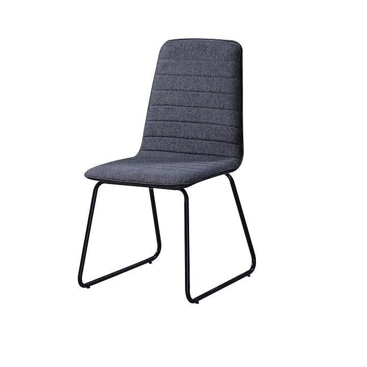 Jedálenská stolička Danuta (tmavosivá + čierna)