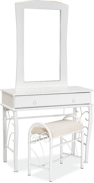 SIGNAL 1102 toaletný stolík - biela