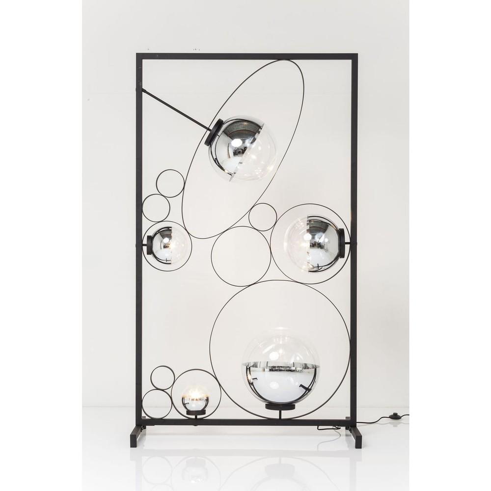 Stojacia lampa Kare Design Balloon Clear Square