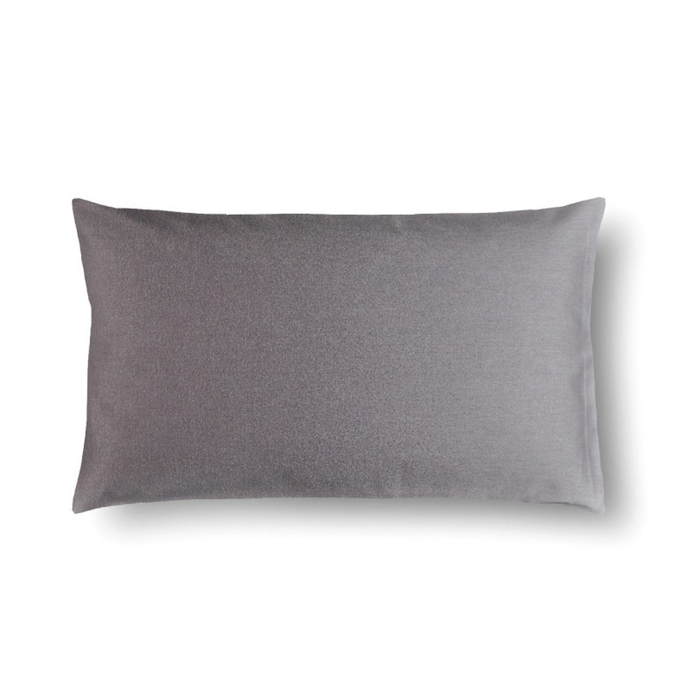 Sivý damašková obliečka na vankúš Casa Di Bassi Basic, 50×70 cm