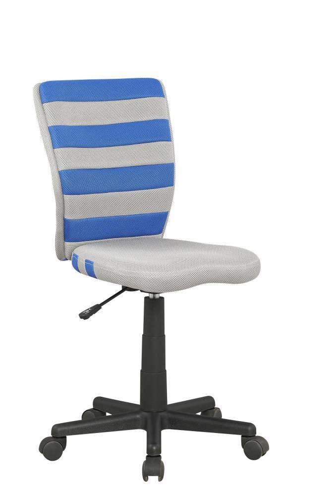 Detská stolička Fuego (sivá + modrá)