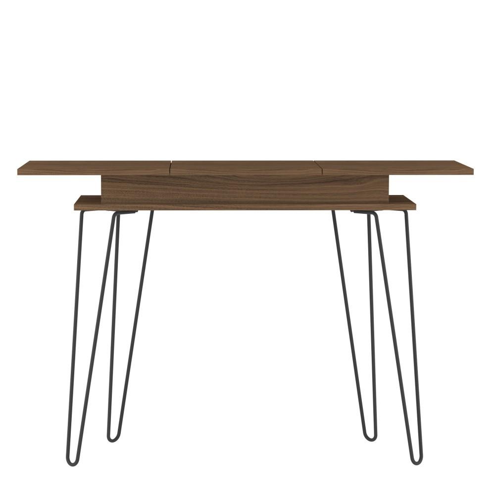 Tmavohnedý konzolový stolík Symbiosis Aero