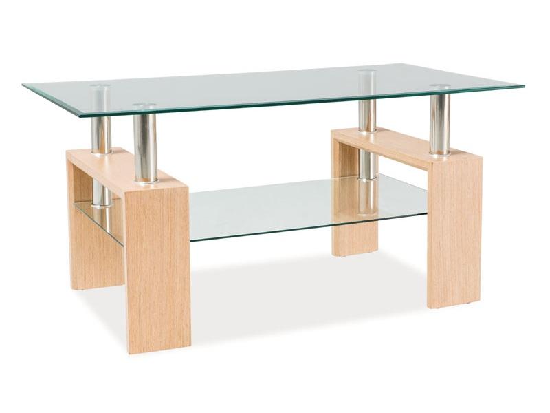 Konferenčný stolík Lisa II (dub)