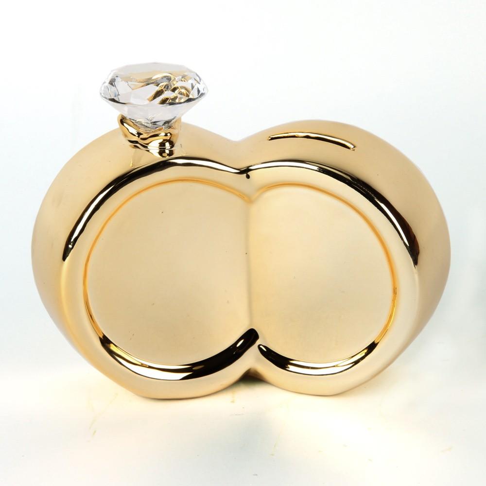 Pokladnička na drobné Amore Wedding Rings