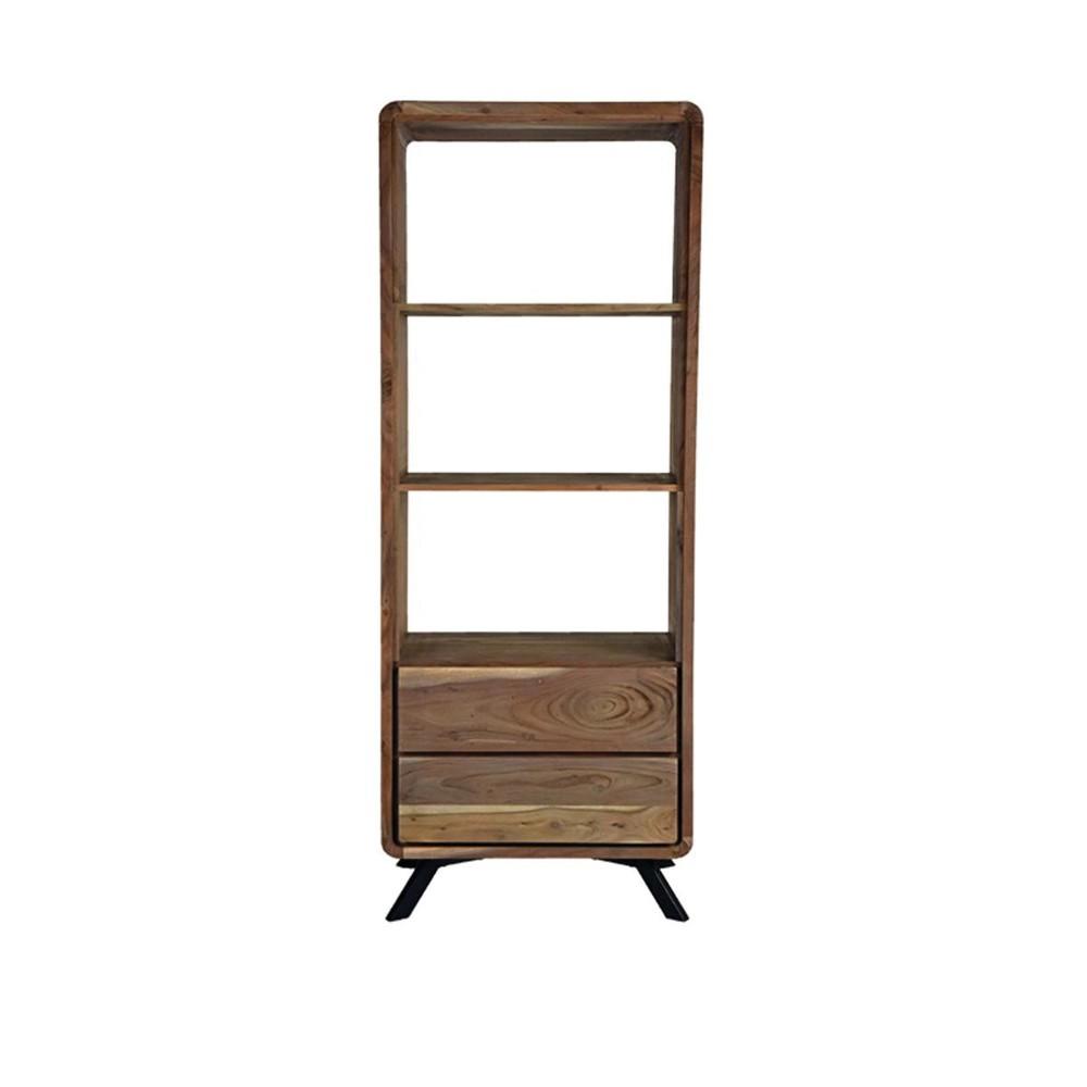 Knižnica z akáciového dreva LABEL51 Havana