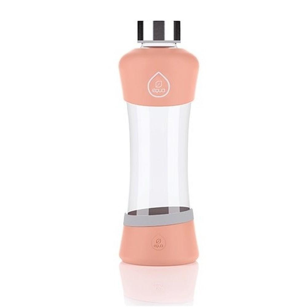 Sklenená fľaša Equa Active Peach, 0,55 l