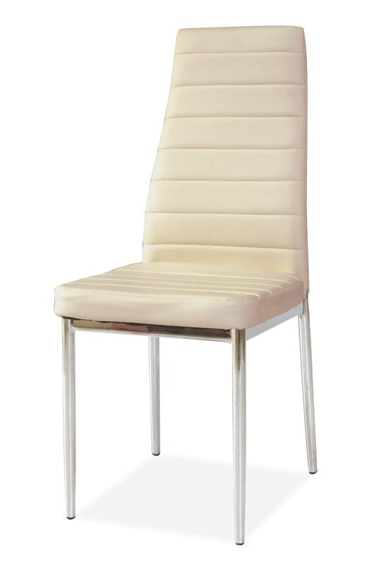 SIGNAL H-261 jedálenská stolička - krém