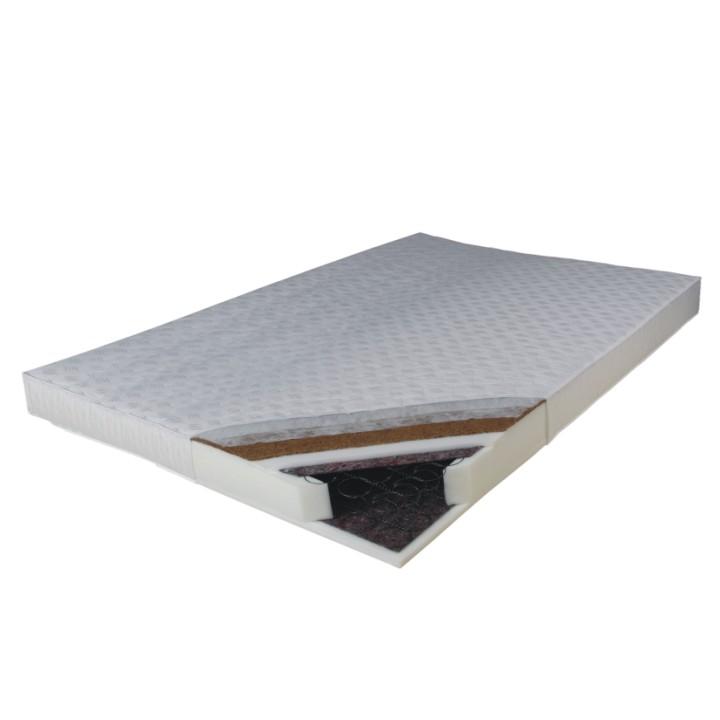 Pružinový matrac Kokos Medium 200x180 cm