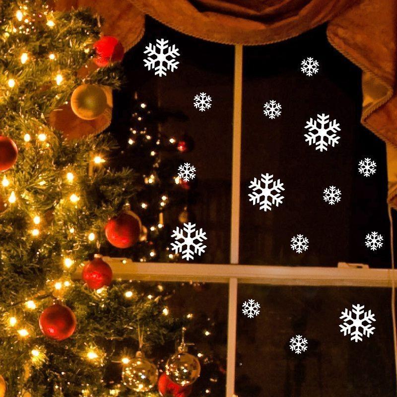 Elektrostatická samolepka Fanastick Bright White Snow