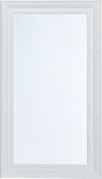 Zrkadlo GANESA - biela