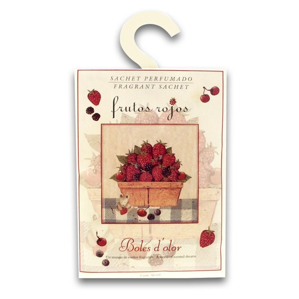 Vonné vrecúško s vôňou červeného ovocia Boles d'olor
