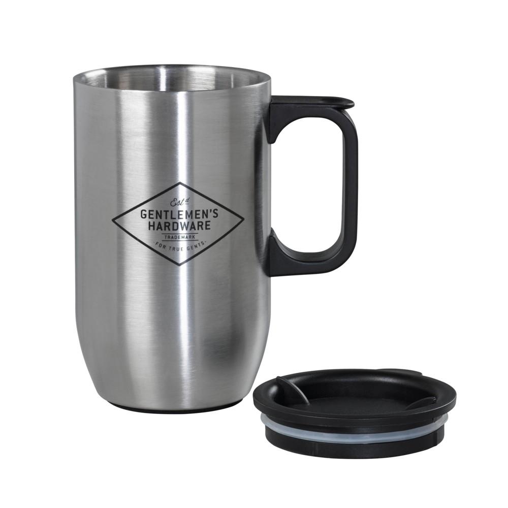 Cestovný hrnček z nehrdzavejúcej ocele Gentlemen's Hardware Travel Mug, 450ml