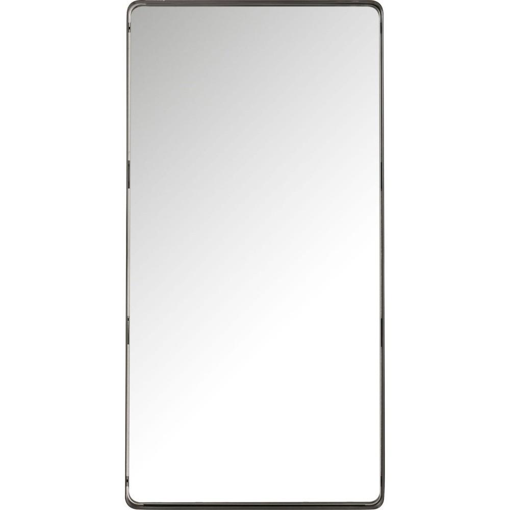Zrkadlo s čiernym rámom Kare Design Shadow Soft, 120 x 60 cm