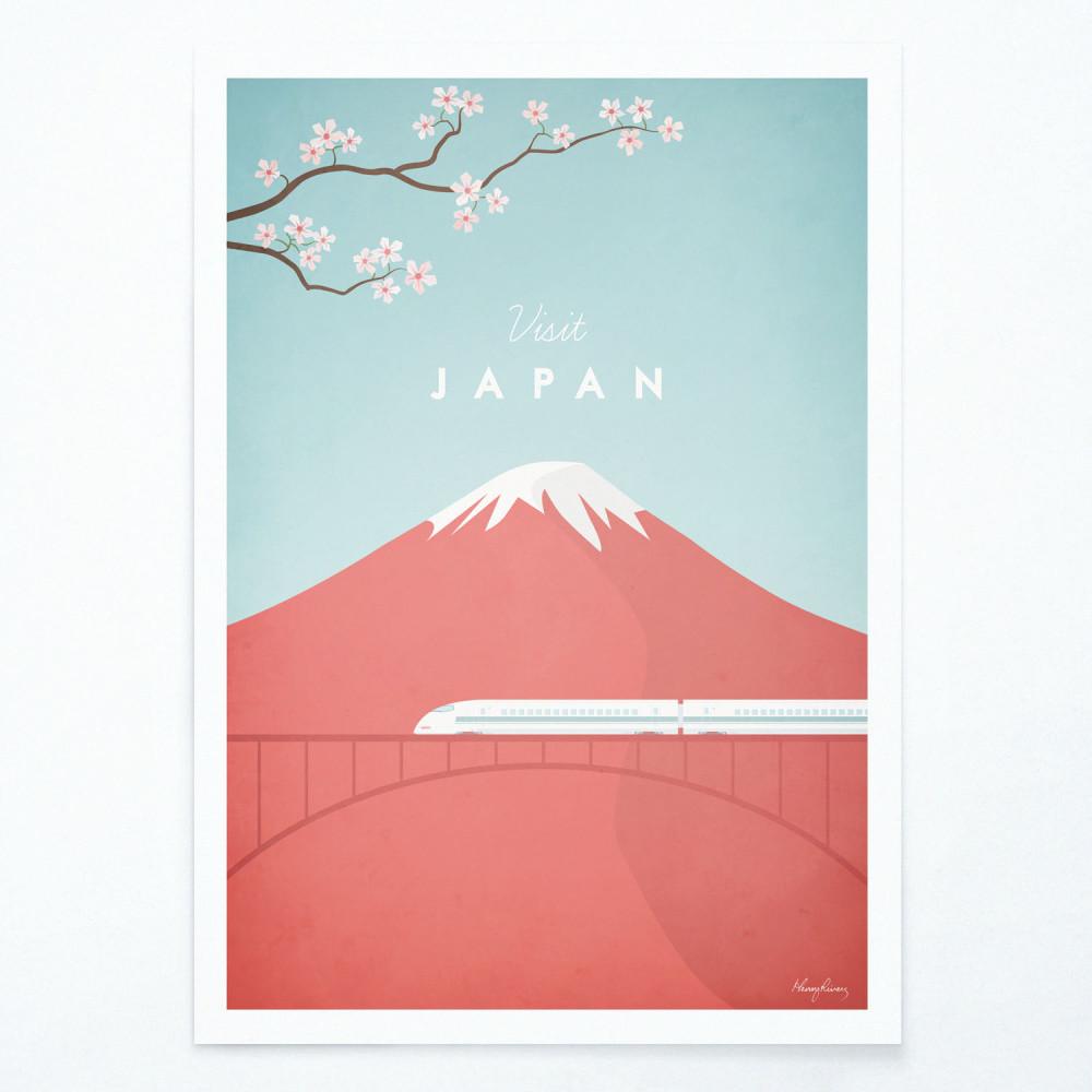 Plagát Travelposter Japan, A2
