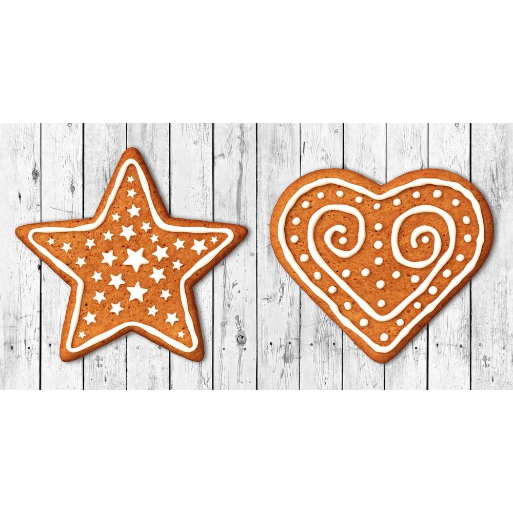 Kuchynský behúň Crido Consulting Gingerbread Hearth, dĺžka 100 cm
