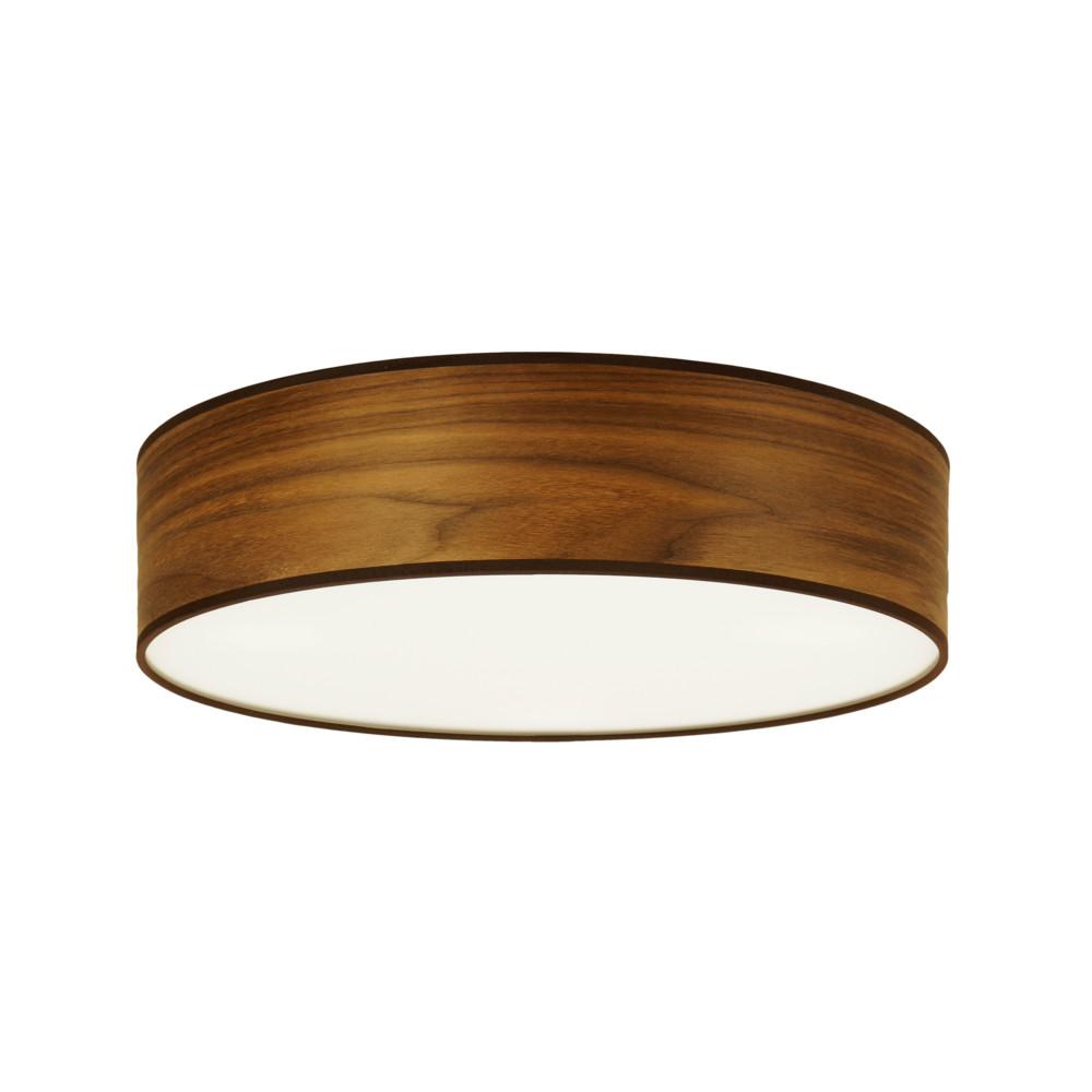 Stropné svietidlo vo farbe orechového dreva Sotto Luce Tsuru, Ø 40 cm