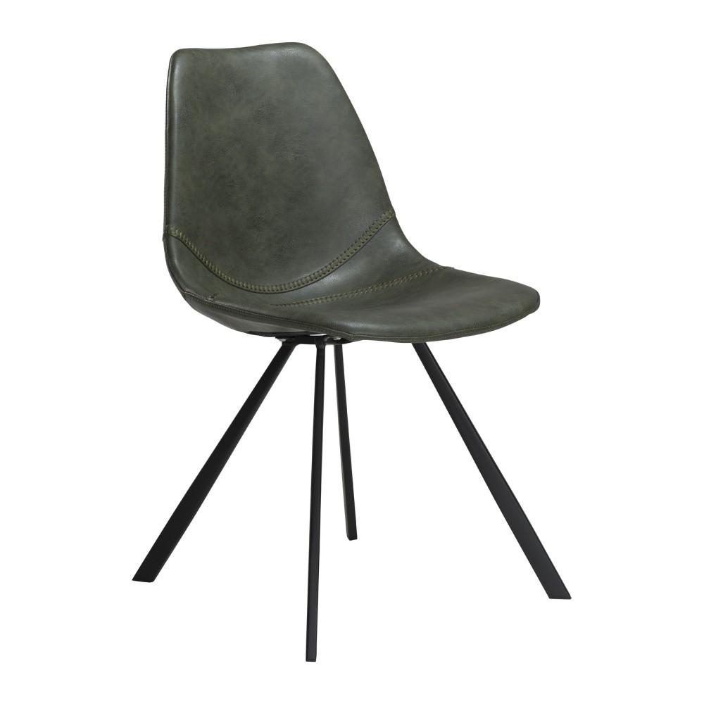 Zelená jedálenská stolička DAN–FORM Pitch