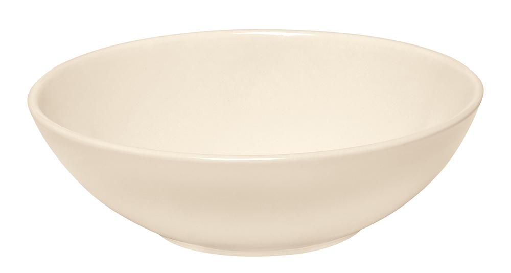 Misa na šalát 22 cm Clay krémová - Emile Henry (Emile Henry Miska salátová Clay krémová - Emile Henry)
