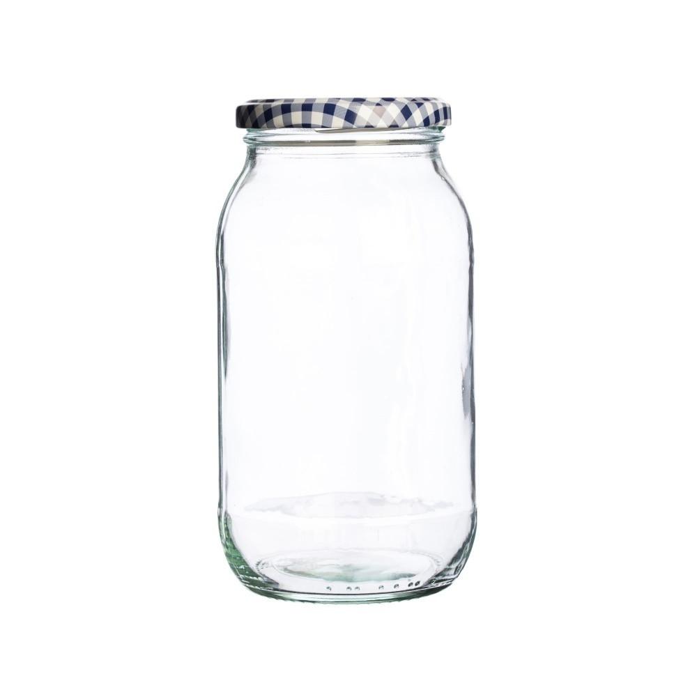 Sklenený zavárací pohár Kilner Round, 725 ml