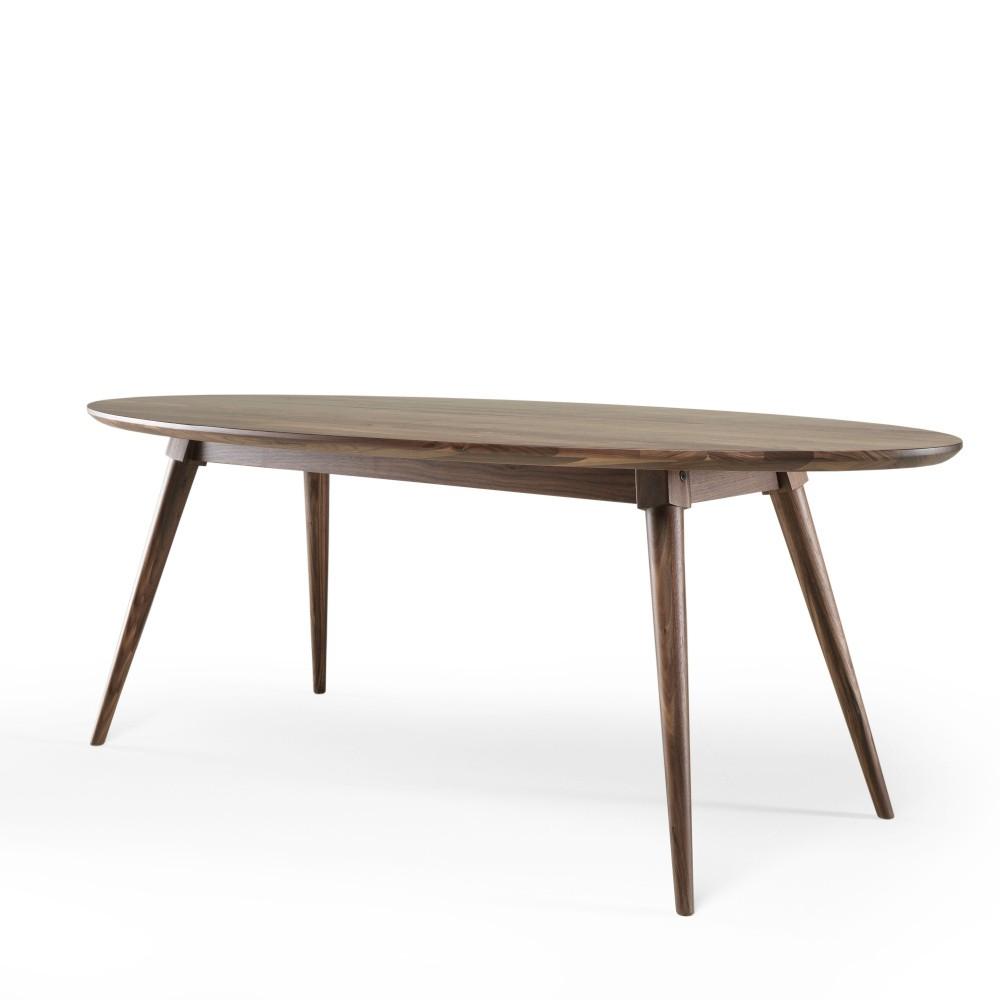 Jedálenský stôl z orechového dreva Wewood - Portugues Joinery Ines, dĺžka 220 cm