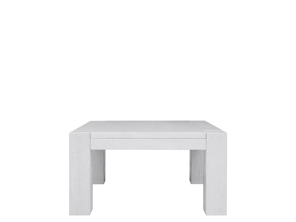 Konferenčný stolík Luton 90/90 dub bielený
