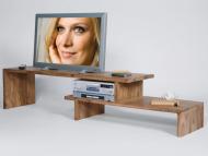 Masivny TV stolik 190x42x45