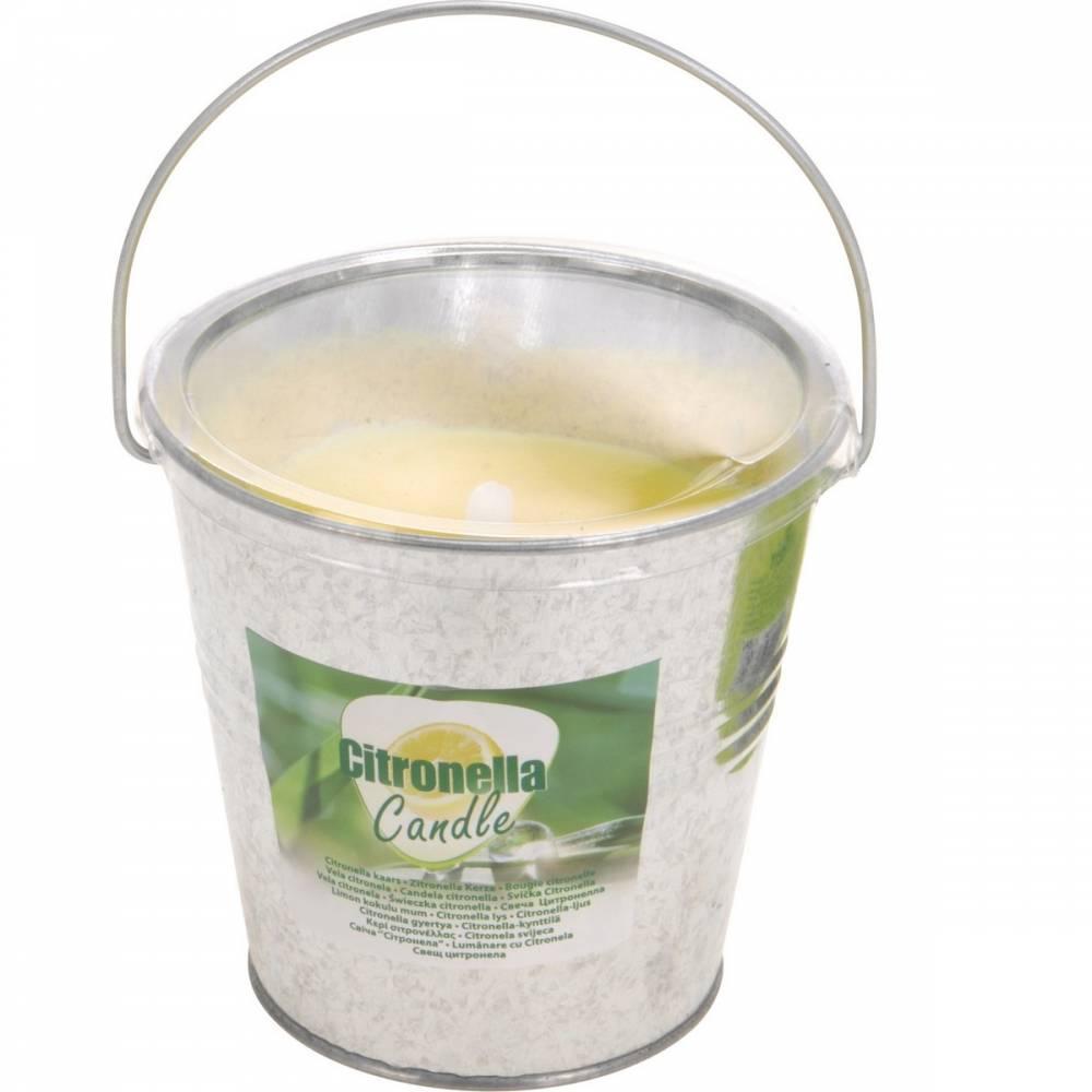 Repelentná sviečka Citronella v plechovom obale, 160 gramov