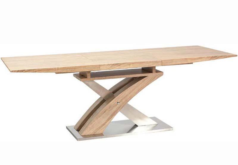 PAUL jedálenský rozkladací stôl, dub sonoma