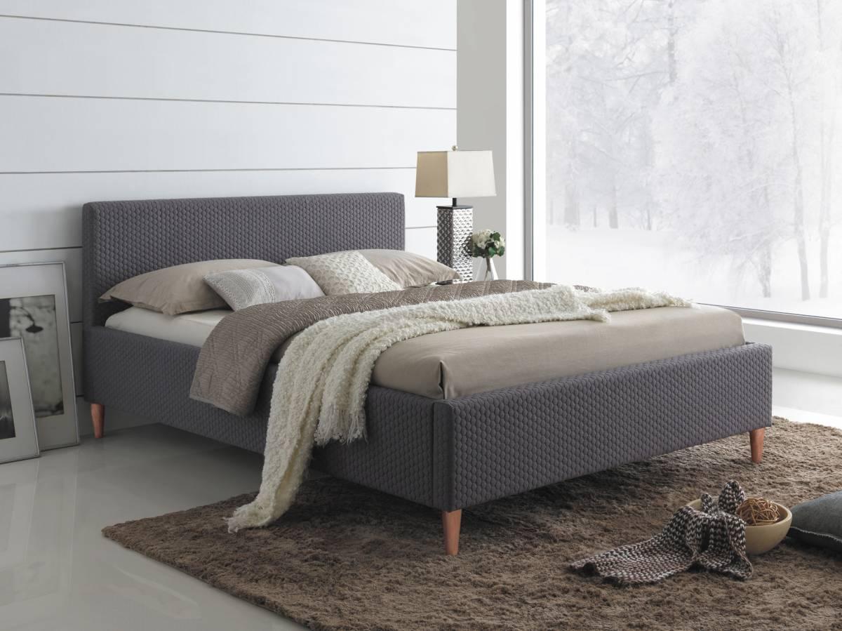 Manželská posteľ 160 cm Seul (s roštom)