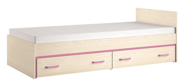 Detská posteľ BONTI 15   Farba: cyklaménová