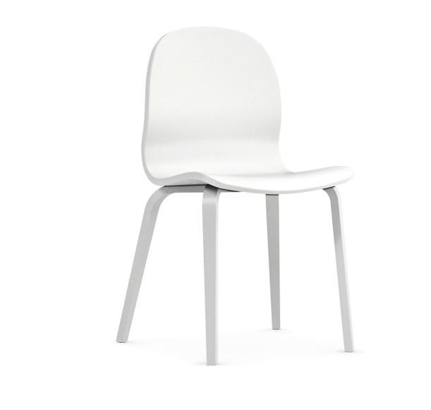 Jedálenská stolička Possi biela   Farba: biela/biela