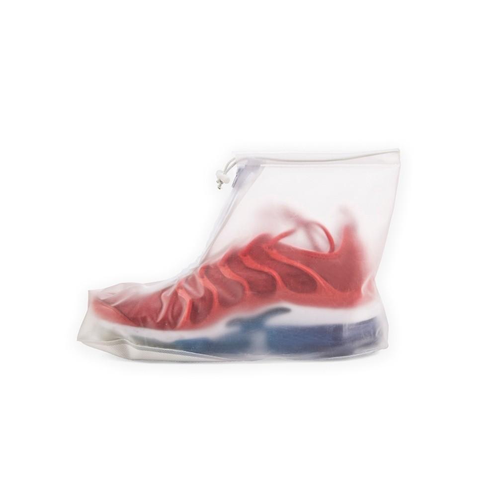 Transparentná pláštenka na obuv Kikkerland Rain, dĺžka 23 cm
