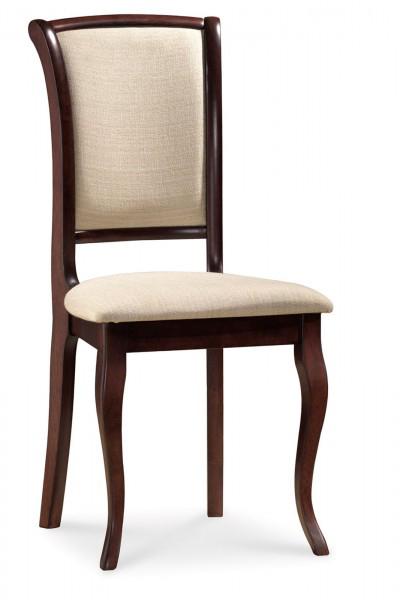 SC-MN čalúnená jedálenská stolička, orech tmavý D03.
